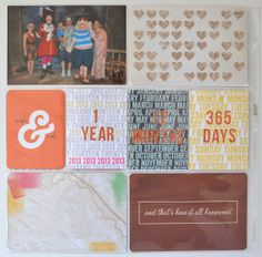 A Vegas Girl at Heart- last page project life
