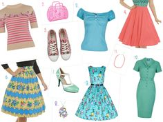 Candy Coloured Spring Wishlist