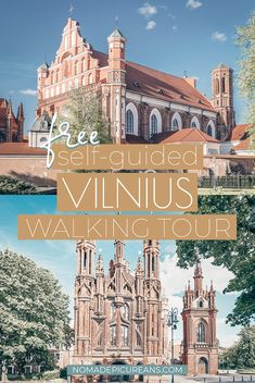 Free Self-Guided Vilnius Walking Tour: Highlights & Overlooked Gems (With Map!), TRAVEL, Explore the city's highlights as well as hidden gems on this self-guided Vilnius walking tour. Includes walking directions, fun facts, and a map! Europe Travel Guide, Travel Tours, Travel Guides, Travel Destinations, Holiday Destinations, Travel Info, Nightlife Travel, Budget Travel, European Destination