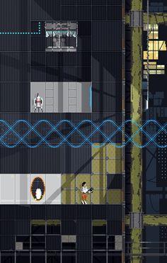 Pixel Portals!