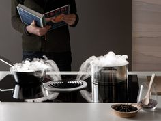 Induction hob with integrated hood BASIC Basic Collection by BORA | design Willi Bruckbauer