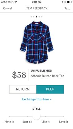 Athenia Button Back Top by Unpublished Stitch Fix Review: https://www.asprinkleoflife.com/2016/11/stitch-fix-falling-into-style/