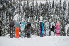 Wondering what to ride this season? Let @burtongirls help you out with this rad breakdown of different board shapes and cambers!