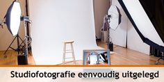 Studiofotografie eenvoudig uitgelegd   How-To