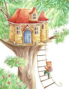 perfect secret little tree house <3