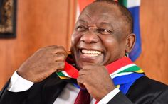 Laugh a little: Ramaphosa takes mask fail in his stride with SA scarf African Scarf, Freedom Day, Our President, South Africa, Fails, Presidents, Baby, Make Mistakes, Baby Humor