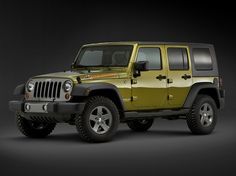 """Jeep Wrangler Unlimited """"Mountain"""" (2010)."""
