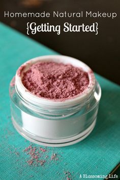Do you want to switch your toxic makeup to more natural homemade products? Here are some great ways to start making your own!