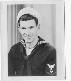 Russell Golsbary shared this picture of his father during WWII. He was a SeaBee who helped rebuild the harbor at Guam. Russell was so inspired by his father that he joined the Navy when he was 19 years old.