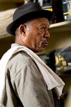 "Morgan Freeman in ""Million Dollar Baby"""