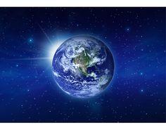 fotobehang planeet
