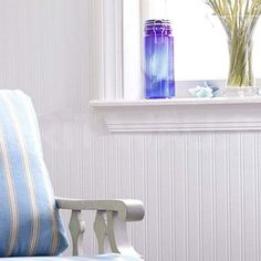 Beadboard Striped Paintable Wallpaper In White Full Roll Heaven Amazoncouk Dp B0089O7ET4 Refcm Sw R Pi W Tyub1BW74MR