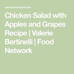 White chicken chili recipe valerie bertinelli white chicken and chicken salad with apples and grapes recipe valerie bertinelli food network forumfinder Gallery
