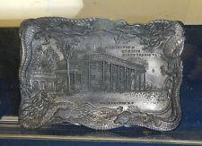 Vintage, Washington's Mansion Framed by a Dragon commemorative Miniature plater