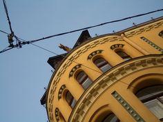 La Casa de los Gatos en Riga: Una pelea felina -  #Edificios #GranGremio #LaCasa #Leyendas #Riga #RigaUna #TaniaHo Más en http://viajerosdelmisterio.es/casa-de-los-gatos-riga-pelea-felina/
