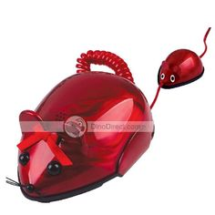 Creative cute cartoon rat phone / Mini telephone / Home corded telephone Cartoon Rat, Cute Cartoon, Et Phone Home, Call Me Maybe, Candy Apple Red, Old Phone, Gadgets And Gizmos, Mother And Child, Telephone