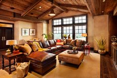 Decorating Ideas For Living Rooms With Brown Leather Furniture