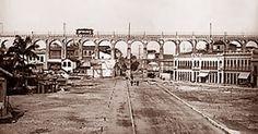Região carioca dos Arcos da Lapa na virada sec. XX - Marc Ferrez.