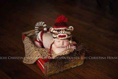 Tan Loops Newborn Baby Blanket | Beautiful Photo Props