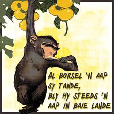 Digitale collage kuns deur Tinka Paulsen (Afrikoekie) My Land, Afrikaans, Life Quotes, Funny, Illustrations, Image, Animals, Lips, Quotes About Life