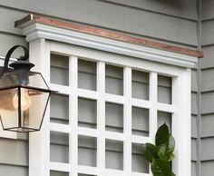 Westbury Copper Cap lattice panels   Walpole Outdoors: