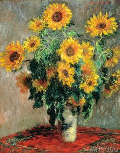 Claude Monet - Bouquet des soleils