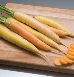 Rainbow carrots.