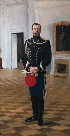 Nicolás II de Rusia (San Petersburgo, Imperio ruso, 18 de mayo de 1868 – Ekaterimburgo, Rusia, 17 de julio de 1918) fue el último zar de Rusia. Hijo del zar Alejandro III, gobernó desde la muerte de su padre, el 20 de octubre de 1894, hasta su abdicación el 2 de marzo de 1917.