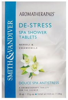 Aromatherapaes De Stress Spa Shower Tablets (4x4.8oz) ** Trust me, this is great! Click the image. : aromatherapy essential oils