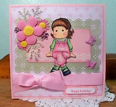 Pretty in Pink! Birthday Card