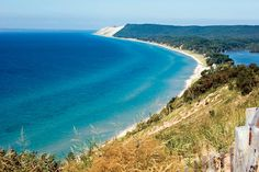 Sleeping Bear Dunes NP - amazing even with a newborn William