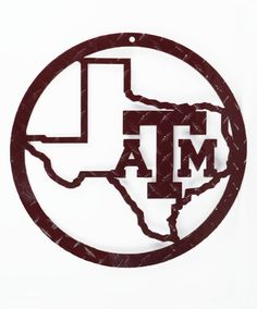 quality design 83fd3 ad2e7 Texas A M Aggies Lonestar Diamond Plate Wall Sign Plate Wall, Plates On  Wall, Texas