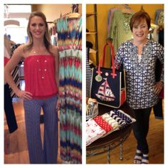 Frox Fashion Friday!!  Here are Lauren and Sue's picks for the week! Stop in for our Red, White and Blue sale going on this weekend only! Like, comment and share! But don't forget to tell us what your favorite look is!