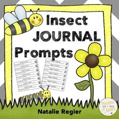 "Journal writing prompts for your insect unit! The ""Insect Journal Prompts"" package contains 25 writing prompts that you can use to support the development of your students' writing skills."