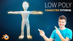 How to Create a Low Poly Character in Blender 2.8