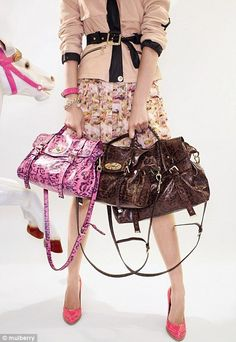 Handbag maker Mulberry has success in Asian market