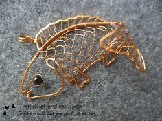 wire art jewelery