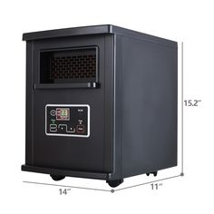 SUNCOO Portable Electric Infrared Quartz Space Heater W/ Remote Control * Find out more about the great product at the image link. (This is an affiliate link) Best Space Heater, Locker Storage, Remote, Image Link, Electric, Quartz, Amazon, Awesome, Tips