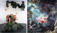 De schommel, Yinka Shonibare en de schommel van Fragonard