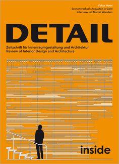 DETAIL : zeitschrift für architektur + baudetail. INSIDE. nº 1. SUMARIO: http://www.detail-online.com/magazine/inside-12016-27626/