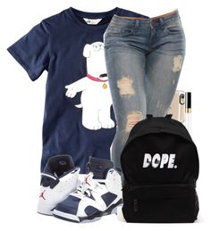 """Untitled #199"" by jaziscomplex on Polyvore featuring Casetify, H&M, NIKE, Chanel, women's clothing, women's fashion, women, female, woman and misses"
