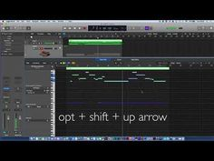 Logic Pro X - Quick Tips - Transpose midi by an octave in piano roll - YouTube Logic Pro X, Piano, Rolls, Tips, Youtube, Buns, Pianos, Bread Rolls, Youtubers