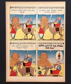 Strip 1938 cola comic pepsi