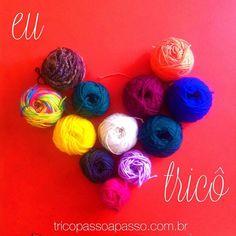 se você também ama tricô curta e marque as amigas tricoteiras! ❤️…