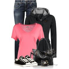 A fashion look from February 2015 featuring Zalando t-shirts, LTB by Little Big jeans and Converse sneakers. Browse and shop related looks.