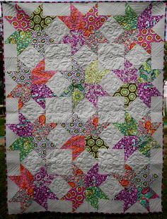 MarveLes LAP QUILT Tula Pink Chipper Fabrics in a by marveles