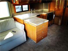 Rv Kitchen Cabinet Storage