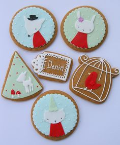 these cookies look fantastic, I may add these to my Yum Yum board but first, cute alert!