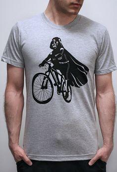 Darth Vader is Riding It - Mens t shirt (Star Wars Darth Vader bike t 2520c1e6d