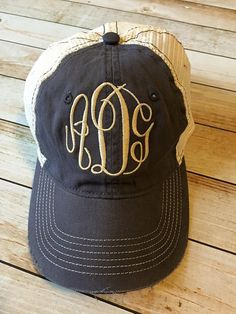3c52e899aab Pin by Little House on the Hudson on Trucker Hats   Distressed Style ...